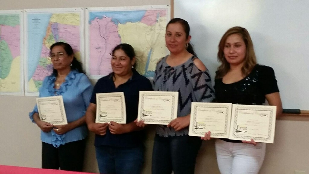 Our ESOL 2015 Graduates! Congratulations!