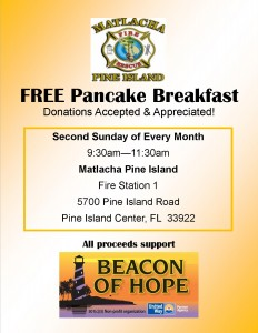 Pancake Breakfast @ Pine Island Matlacha Fire Station  | Cape Coral | Florida | United States