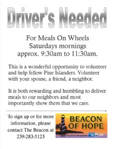 Meals On Wheels Drivers Needed